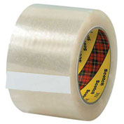 "3M 311 Carton Sealing Tape 3"" x 110 Yds 2 Mil Clear  - Pkg Qty 6"