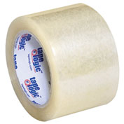 "Carton Sealing Tape 3"" x 55 Yds 3.5 Mil Clear - 6/PACK"