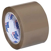 "Tape Logic® #350 Industrial Tape 3"" x 55 Yds. 3.5 Mil Tan - 6/PACK"