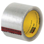"3M™ 372 Carton Sealing Tape 3"" x 55 Yds 2.2 Mil Clear - 6/PACK"