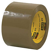 "3M™ Scotch® 373 Carton Sealing Tape 3"" x 55 Yds. 2.5 Mil Tan - Pkg Qty 6"