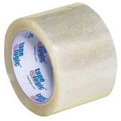 "Tape Logic® #400 Industrial Tape 3"" x 110 Yds. 2 Mil Clear - Pkg Qty 24"