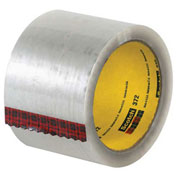 "3M™ 372 Carton Sealing Tape 3"" x 110 Yds 2.2 Mil Clear - 6/PACK"
