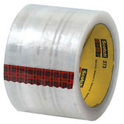 "3M™ 373 Carton Sealing Tape 3"" x 110 Yds 2.5 Mil Clear - 6/PACK"