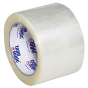"Carton Sealing Tape 3"" x 110 Yds 1.6 Mil Clear - Pkg Qty 6"