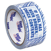 """Security Tape  """"If Seal Has Been Broken, Check Contents"""" 3"""" x 110 Yds - 6/PACK"""