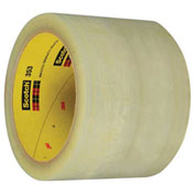 "3M™ 353 Carton Sealing Tape 3"" x 55 Yds 1.9 Mil Clear - 6/PACK"