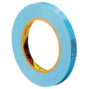 "3M™ 8896 Strapping Tape 1/2"" x 60 Yds 4.6 Mil Blue - 12/PACK"