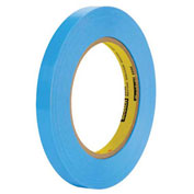 "3M™ 8898 Poly Strapping Tape 1/2"" x 60 Yds 4.6 Mil Blue - 12/PACK"