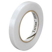 "3M™ 8934 Strapping Tape 1/2"" x 60 Yds 4 Mil Clear - 12/PACK"