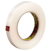 "3M™ 865 Strapping Tape 3/4"" x 60 Yds 6.4 Mil Clear - 12/PACK"
