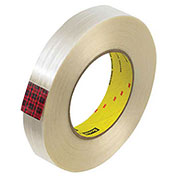 "3M™ 890MSR Strapping Tape 1"" x 60 Yds 8 Mil Clear - 12/PACK"