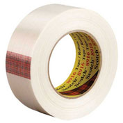 "3M™ 8916 Strapping Tape 1-1/2"" x 60 Yds 6 Mil Clear - 12/PACK"