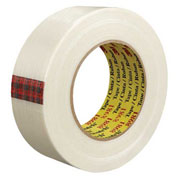 "3M™ 8981 Strapping Tape 1-1/2"" x 60 Yds 6.6 Mil Clear - 12/PACK"