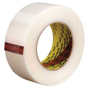 "3M™ 865 Strapping Tape 2"" x 60 Yds 6.4 Mil Clear - 12/PACK"