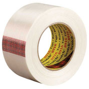 "3M™ 8916 Strapping Tape 2"" x 60 Yds 6 Mil Clear - 12/PACK"