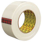 "3M™ 8981 Strapping Tape 2"" x 60 Yds 6.6 Mil Clear - 12/PACK"