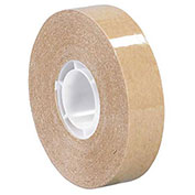 3M 987 Adhesive Transfer Tape 1/4 x 60 Yds 1.7 Mil Clear, Pack of 6