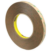 3M 9472LE Adhesive Transfer Tape Hand Rolls 1/2 x 60 Yds 5 Mil Clear, 3 Pack