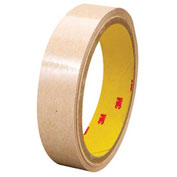 3M 9626 Adhesive Transfer Tape Hand Rolls 1 x 60 Yds 2 Mil Clear, Pack of 6