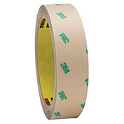 3M F9465PC Adhesive Transfer Tape Hand Rolls 1 x 60 Yds 5 Mil Clear, Pack of 2