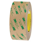 3M 467MP Adhesive Transfer Tape Hand Rolls 2 x 60 Yds 2 Mil Clear,Pack of 6