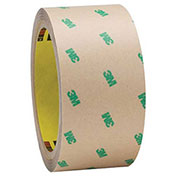 3M F9465PC Adhesive Transfer Tape Hand Rolls 2 x 60 Yds 5 Mil Clear, Pack of 2