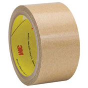 3M 927 Adhesive Transfer Tape Hand Rolls 2 x 60 Yds 2 Mil Clear, Pack of 6
