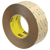 3M 9472LE Adhesive Transfer Tape Hand Rolls 2 x 60 Yds 5 Mil Clear, Pack of 2
