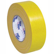"Tape Logic® Cloth Duct Tape, 2"" x 60 yds, 10 Mil, Yellow - 3/PACK"