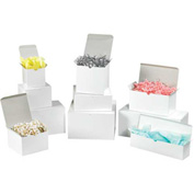 White Gloss Gift Boxes Assortment Pack - 200 Assorted Size Boxes