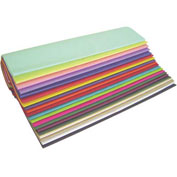 "Popular Colors Tissue Paper 480 Sheet Assortment Pack 20"" x 30"""