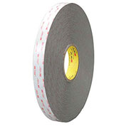 "3M 4956 Double Sided VHB Acrylic Foam Tape 3/4"" x 5 Yds 62 Mil Gray"