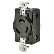 Bryant 3330G TECHSPEC® Receptacle, 30A, 250V, Black