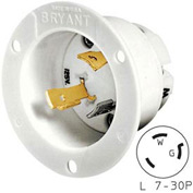 Bryant 70730MB TECHSPEC® Base, L7-30, 30A, 277V AC, White