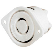 Bryant 7557ER TECHSPEC® Connector, 3P3W, 15A125/10A250V, Multi, White
