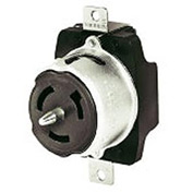 Bryant CS6370A Locking Device Receptacle,125V, 50A