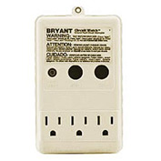 Bryant GFP153R CIRCUIT WATCH Ground Fault Devices, 15A, 125V AC, Ivory