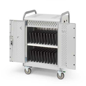 "MDMLAP20-CTAL 20-Laptop Pulse L Cart Charge Only w/ Back Doors, 41""x26""x43"""