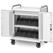"MDMTAB36-CTAL 36-Tablet Pulse M Cart, Charge Only w/ Back Doors, 41""x26""x43"""