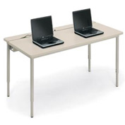 "Bretford® Computer Table 72""W x 30""D - Gray"