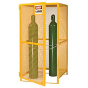 Little Giant®  Gas Cylinder Cabinet, Upright, 36 x 38 x 70