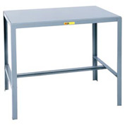 Little Giant®  Steel Top Machine Table, 24 x 48 x 42
