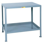 Little Giant®  Machine Table, 2 Shelves, 30 x 48
