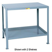 Little Giant®  Machine Table, 3 Shelves, 30 x 48