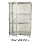 Little Giant®  All Welded Storage Locker, 1 Adj. Center Shelf, 24 x 48