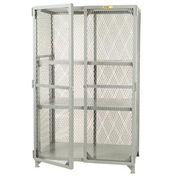 Little Giant®  All Welded Storage Locker, 2 Center Shelves, 36 x 72