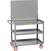 "Little Giant 3MW-2448-5TL-LP 48""W x 24""D Mobile Workstation, 3 Shelves"