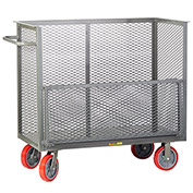 "Little Giant® Bulk Truck CARD-2448-8PY with Removable Drop Gate 24"" x 48"""