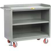 "Little Giant MB3-2448-FL  48"" W Mobile Bench Cabinets, Center Shelf"